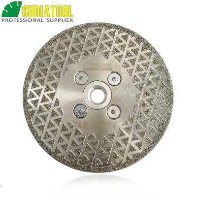 115MM Electroplated diamond cutting & grinding disc M14 flange Both side coated