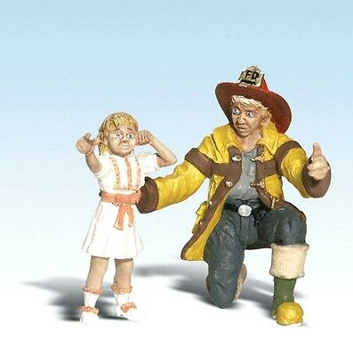 Woodland Scenics - Fireman Bill & Betsy (G scale)  - A2539