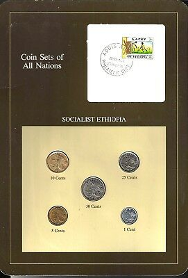 Coins Of All Nations - Socialist Ethiopia