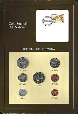 Coins Of All Nations - Republic Of Botswana