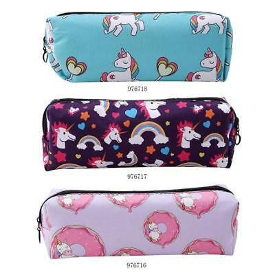 Fashion Women Girls Unicorn Make Up Bag Idea Pencil Case Cute Cosmetic Bag FW