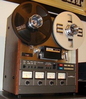 """Teac 40-4 """"Tascam Series"""" Vintage Reel to Reel Deck/Recorder/Reproducer4Channel"""