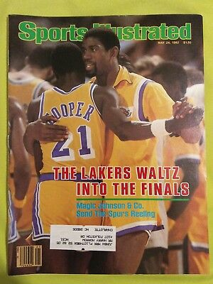 Sports Illustrated Magazine May 24, 1982 Lakers Magic Johnson Spurs