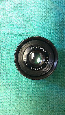 Vintage El-Omegar F/3.5 50mm Enlarging Lens / L455-110 / Japan   L3