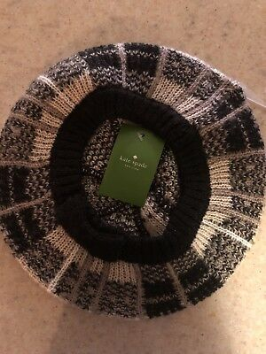 76e2f509f90b5 KATE SPADE WOMEN S Winter Hat Woodland Plaid Beret New With Tags ...