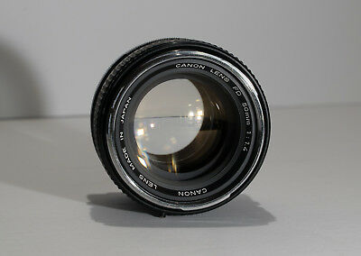Canon FD 50mm f/1.4 Lens (Great Condition, Fully Functional)