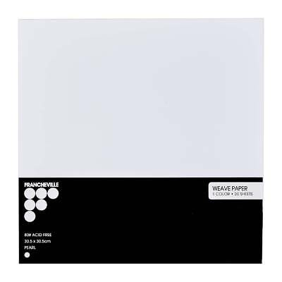 NEW Francheville Pearl 12x12 Inch Paper Pack By Spotlight