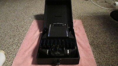 Vintage Stenograph Courtroom Reporter Machine w/Case USA Antique Court Recorder