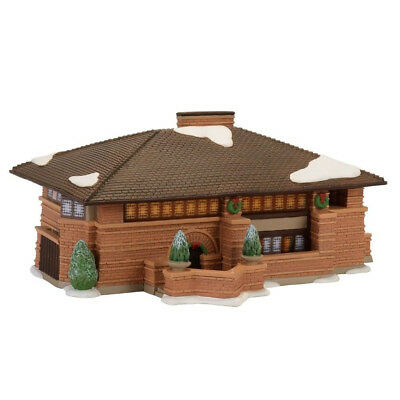 Department 56 Christmas In The City Village New 2017 FLW HEURTLEY HOUSE