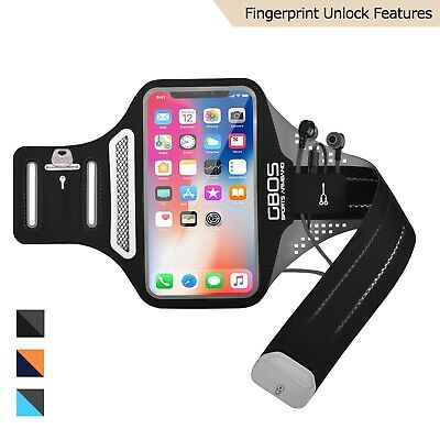 GBOS® New Light Weight Sports Armband Gym Jogging Running Exercise For iPhone X
