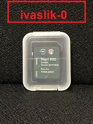 2018 Opel Vauxhall Chevrolet Navigation Sd Card Europa For Navi 600 900 Europe