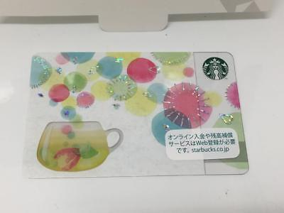 STARBUCKS Gift Card JAPAN 2018 New Year COLORFUL MOMENTS PIN Intact USA Seller