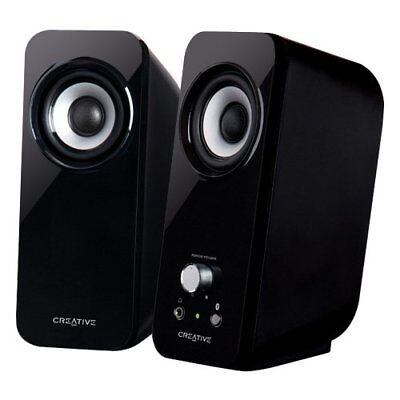 Creative Computer Speakers Inspire T12 2.0 Multimedia System With Bass Flex