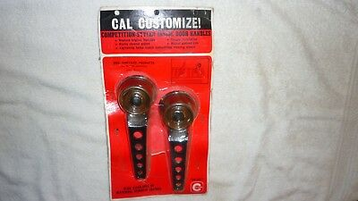 Vintage Nos Cal Custom 1964 - 1969 Dodge Barracuda Dart Inside Door Handles