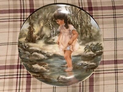 LISA'S Creek by Rusty Money. Used collectors plate.
