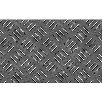 NEW Leni Checker Plate Self-Adhesive Vinyl By Spotlight