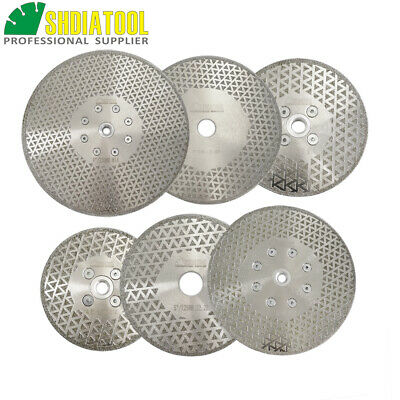1pc Both side Coated Electroplated Diamond Cutting Saw Blades Grinding Disc