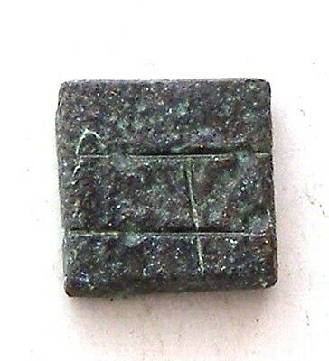 ANCIENT ROMAN BYZANTINE BRONZE WEIGHT great collection!!! #AR444-447