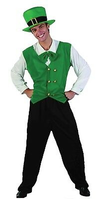 Saint Patrick Mens Costume Gents Irish Priest Book Week Party Outfit Fancy Dress