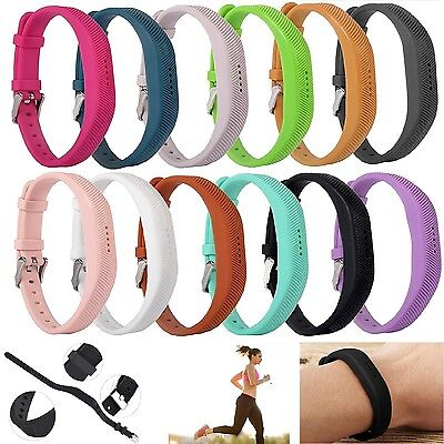 New Replacement Wristband Bracelet Strap Band for Fitbit Flex 2 Classic Buckle