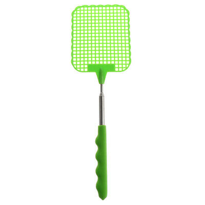 Telescopic Extendable Fly Swatter Prevent Pest Mosquito Tool Stainless Steel