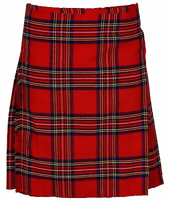 "Royal Stewart Men's 6 Yard 16 Oz Traditional Kilt sizes 30""-50"" waist"