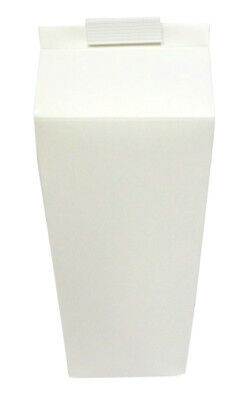 Hoppers - 2 Pint White Disposable Cartons x 100