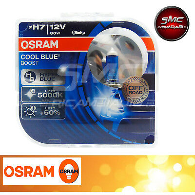 Osram Cool Blue Boost Xenon Look H7 55W 12V Duo Box Lampen / Glühbirnen 8Yy