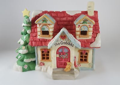 Cherished Teddies 1994 The Cratchits House Haus ohne Beleuchtung