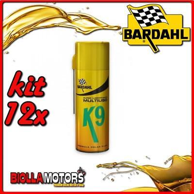 Kit 12X 400 Ml Bardahl K9 Svitol Spray Lubrificante Ad Elevate Prestazioni 400Ml