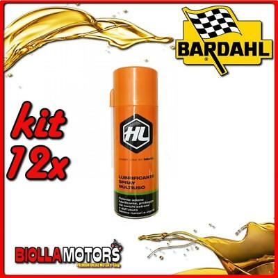 KIT 12X 400ML SBLOCCANTE HL SPRAY BARDAHL MULTIUSO 400ML - 12x 604029