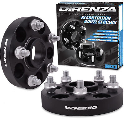 DIRENZA 25mm HUBCENTRIC ALLOY WHEEL SPACERS FOR TOYOTA MR2 SUPRA MK3 MK4 AURIS