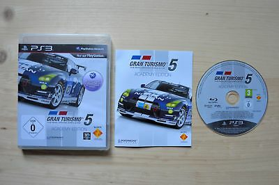 PS3 - Gran Turismo 5: Academy Edition - (OVP, mit Anleitung)