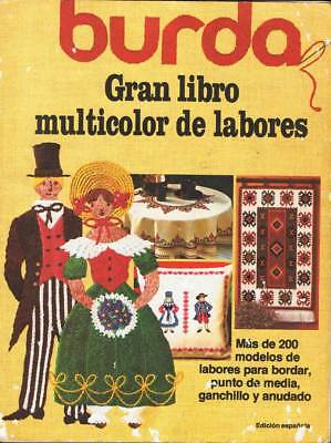 Burda. Gran libro multicolor de labores