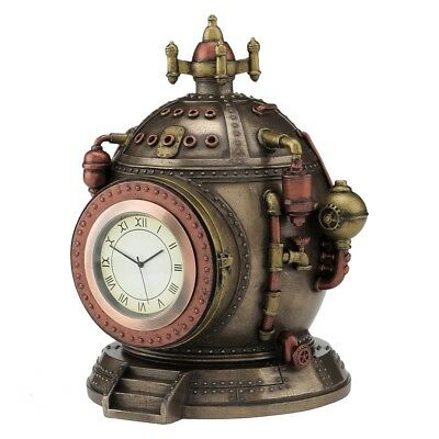 Steampunk Clock - The Mechanics of Time - Working clock with hidden compartment