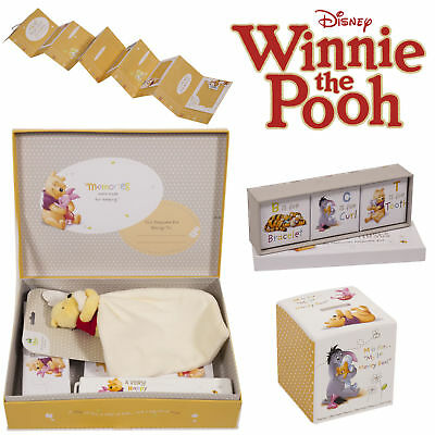Winnie The Pooh Newborn Baby Keepsake Gifts Large Box Height Chart Money Bank