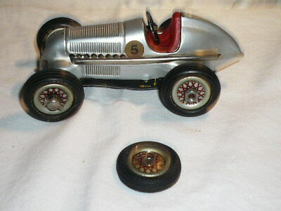 Schuco - 1050 - Mercedes Racer aus Blech Made in Germany - ca. 14cm - KJ8509