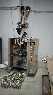 1 Kg granules pouch filling & sealing machine, FFS cup filler machine.