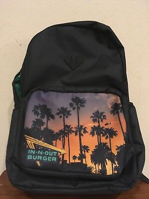 NEW In N Out Burger Backpack Special Associate Christmas Gift 2017