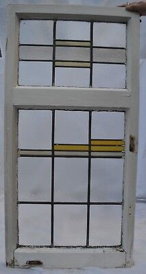 Art deco leaded light stained glass window. R676i. WORLDWIDE DELIVERY!!!