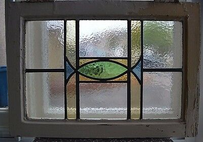 Art deco leaded light stained glass window. R584b. WORLDWIDE DELIVERY!!!