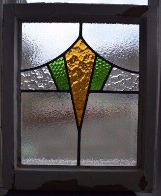 Art deco leaded light stained glass window panel. R624b. WORLDWIDE DELIVERY!!!
