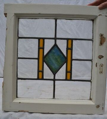 Art deco leaded light stained glass window panel. R258. WORLDWIDE DELIVERY!!!