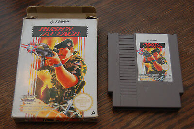 UK VERSION: Rush n' Attack NES Nintendo Game in Box UKV PAL-A
