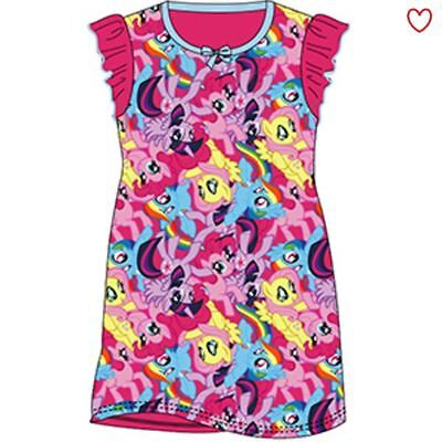 Girls Nightie Nightdress Character Disney Cartoon My Little Pony