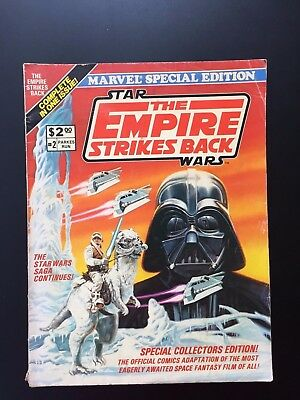 Marvel Special Edition STAR WARS EMPIRE STRIKES BACK Oversized Comic Book 1980