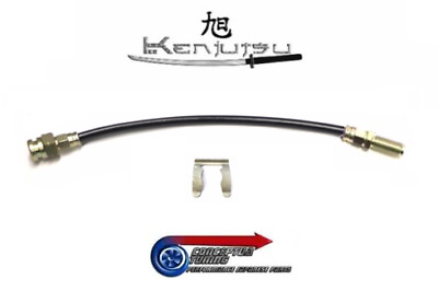 Kenjutsu Uprated Stainless Braided Clutch Flexi Hose - Fits S30 Datsun 260Z L26