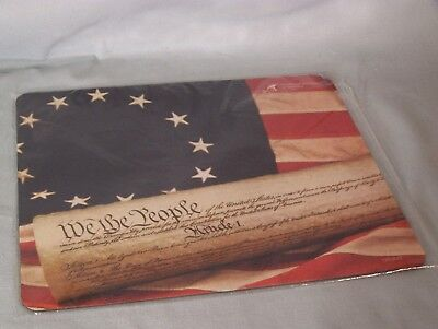"""Partriotic """"WE THE PEOPLE"""" mousepad from Paralyzed Veterans of America"""