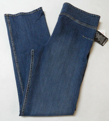 H&M MAMA Maternity Jeans Adjustable Waistband Denim Women's Size M (36W x 32IN)