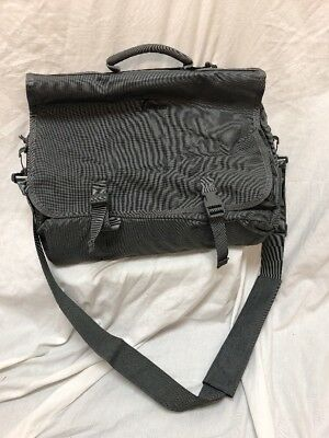 Evolution Messenger Bag Made by London Bridge Trading LBT Grey TNT